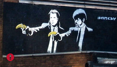 pulp fiction banana guns