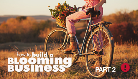 building a blooming business - part 2